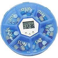 Pill box intelligent electronic reminder, Weekly Pill Organizer Clear 7-Sided Pill Reminder,alarm clock kit portable... preisvergleich bei billige-tabletten.eu