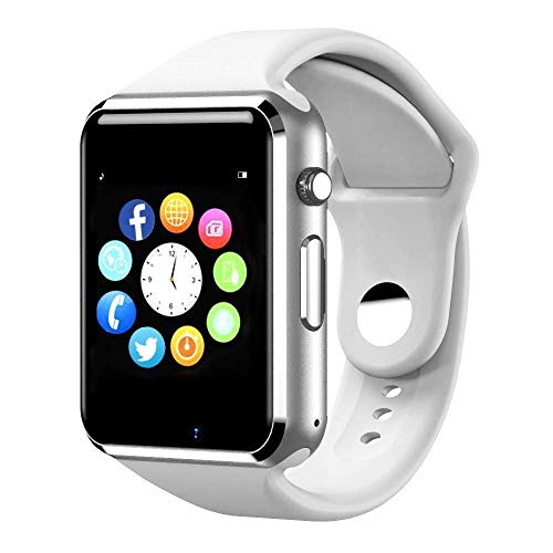 Smart Watch, Touchscreen Smart Watch Smart Watch Smart Handy Slot Kamera Schrittzähler Motion Tracker kompatibel mit iOS iPhone Android Samsung LG Handy Jungen und Mädchen