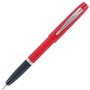 Parker Reflex Stylo-plume Pointe moyenne Rouge