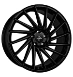 KESKIN KT17 MATT BLACK PAINTED 8x18 ET35 4.00x4x100 Hub Hole 63.40 mm - Alu felgen