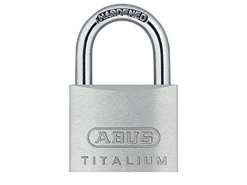 ABUS 64ti/25 Titalium Padlock 25mm Carded