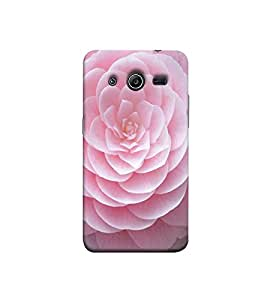 Fuson pink flower theme Designer Back Case Cover forSamsung Galaxy Core 2 G355H :: Samsung Galaxy Core Ii :: Samsung Galaxy Core 2 Dual -P-1389