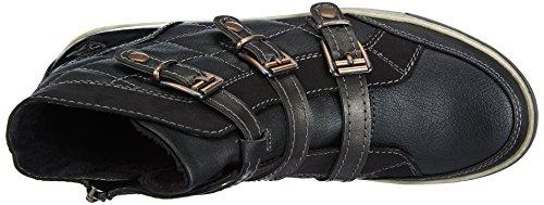 Tamaris Active 25415, Baskets mode femme Multicolore (Black Comb 098)