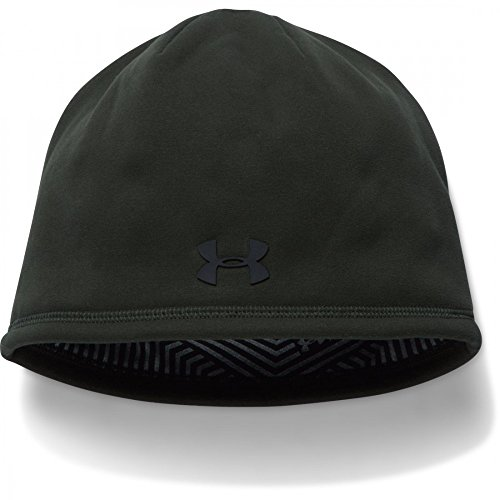 Under Armour Elements 2.0 - Berretto sportivo da uomo, Uomo, Sportswear Hut Elements 2.0 Beanie, Artillery Green, Taglia unica
