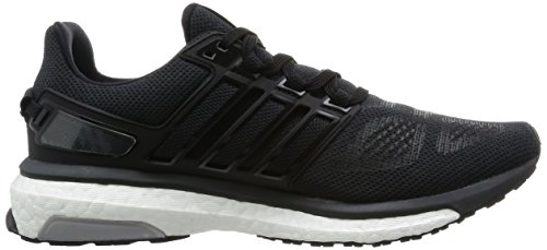 adidas Energy Boost 3 M, Chaussures de Running Homme Noir (Core Black/Dark Grey/Dgh Solid Grey)