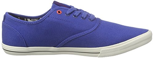 JACK & JONES Herren Jjspider Canvas Sneaker Low-Top Blau (Limoges)
