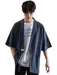 Z Chaqueta Japonesa del Estilo del Kimono del Tamaño Extra Grande De Los Hombres