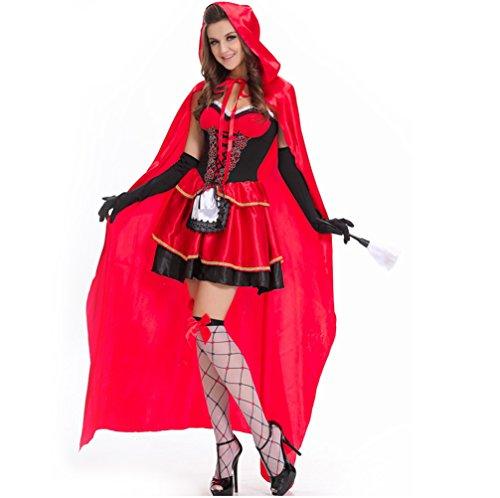Svance Adult Halloween Party Kostüme Kleid für Frauen und Girls. (XL(CN) = M, Rotkäppchen01 (Halloween Party Girl Kostüme)
