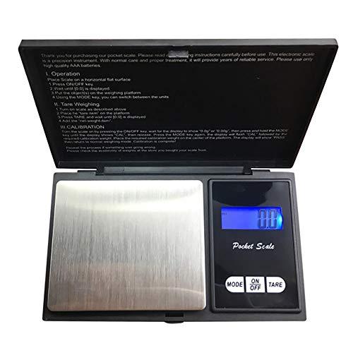 HGA Nahrungsmittelskala Präzisions-Digital-Waagen für den Goldschmuck 200g / 100g 0,1 Gewicht Elektronische Skala-Balance Küche Küche Messinstrumente