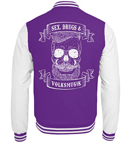 PlimPlom Sex Drugs and Volksmusik - Party Design - College Sweatjacke ()