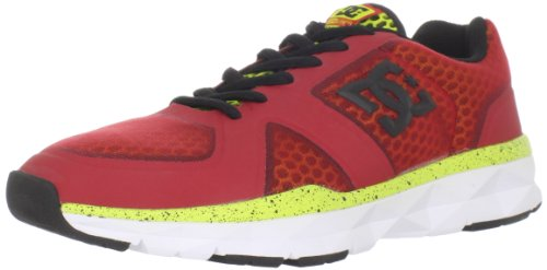 DC Shoes Unilite Trainer-M, Herren Espadrille Halbschuhe, Rot - rot - rot - Größe: 40 EU - Sneaker Unilite Herren Trainer