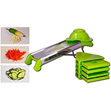 Tagliaverdure affetta verdure manuale con lama di precisione mandolina Shredder