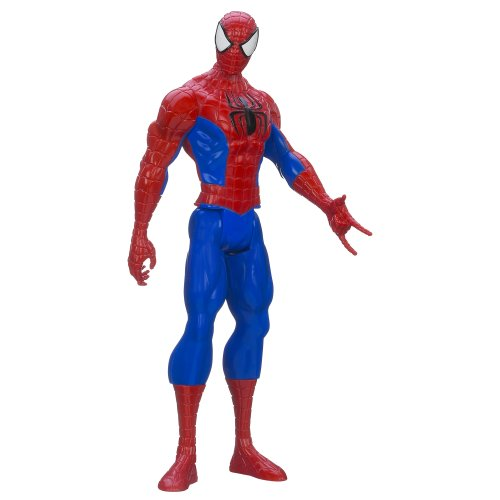 Spider-Man Marvel Ultimate Titan Hero Serie Figur, 12 Zoll -