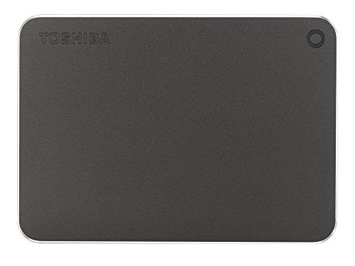 Toshiba Canvio 1TB Premium Externe Festplatte (6,4 cm (2,5 Zoll), USB 3.0) dunkelgrau