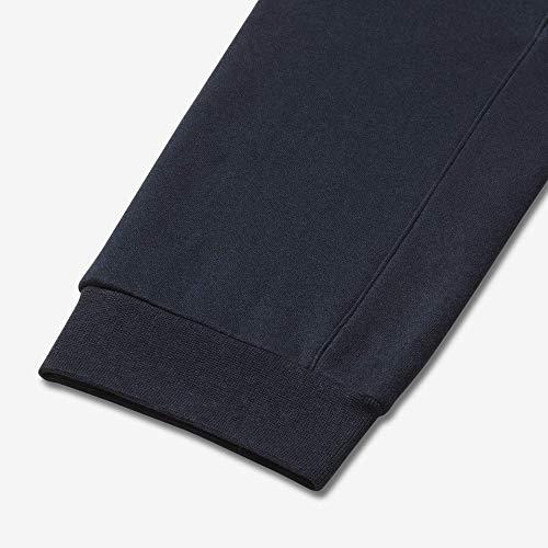 Nike Men's M NSW CLUB JGGR BB Pants, Obsidian/White, L Img 4 Zoom