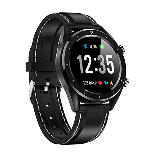 JIEGEGE Die Intelligente Uhr DT28-Männer, IP68 Imprägnierung Uhrzahlung ECG-Herzfrequenzmonitor Eignungs-Verfolger, Ununterbrochene 24-Stunden-Überwachung Für Androides IOS (Medizinische überwachung-uhr)