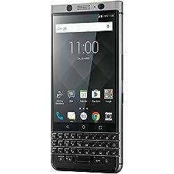 BlackBerry Smartphone KEYone Business (32 GB, LTE, Appareil Photo 12Mpx, 11,4cm (4,5Pouces)), argenté