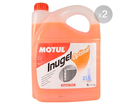 MOTUL Inugel Optimal Car Antifreeze / Coolant - Ready to Use - 2 x 5 liters