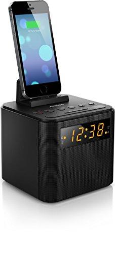 Philips AJ3200 Radiosveglia - Tuner Digitale FM, Nero