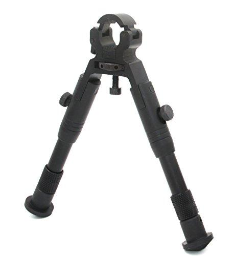 JINSE Bipod Zweibein Dragon Claw Clamp-on Folding Einstellbare 9-11 Zoll Zweibein Rad Größe 11mm bis 19mm -