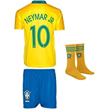 37fa5677eb SVB Brasil Copa del Mundo wm18   10 Neymar – Niños Pantalones y Camiseta  con Calcetines