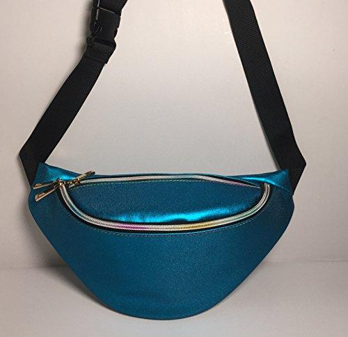 Flada, Borsa a zainetto donna bianco Style 1 medium Blue