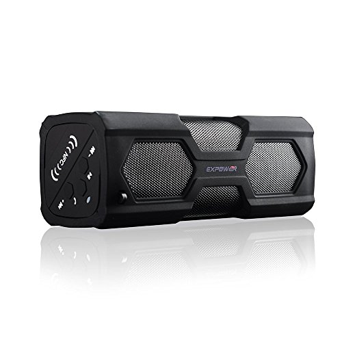 expower-23w-altoparlante-bluetooth-40-wireless-portatile-stereo-con-3600-mah-power-bank-microfono-in