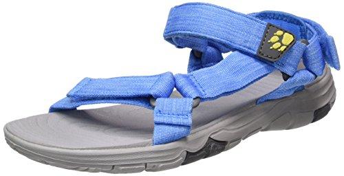 Jack Wolfskin Seven Seas 2 Sandal W, Damen Sport- & Outdoor Sandalen, Blau (Wave Blue), 42 EU (8 UK)
