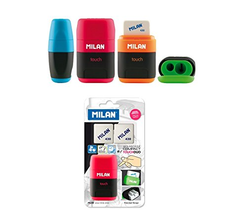 Milan - Blister afilaborra Compact Touch + 2 Gomas...