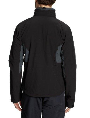 SALEWA Herren Softshelljacke Iron 2.0 SW M Jacket Black