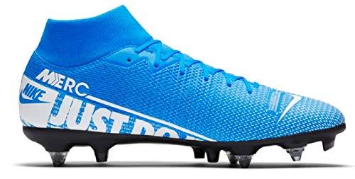 Nike Unisex-Erwachsene Superfly 7 Academy Sg-pro Ac Fußballschuhe, Mehrfarbig (Blue Hero/White-Obsidian 414), 46 EU