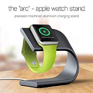 Hunptail Uhr Ständer Apple Watch Ständer Alu Ständer Halterung Tischständer für Apple Watch