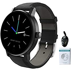Blinking Stars - Smart Watch Bluetooth Impermeabile Smart Bracelet Watch Fitness Tracking Smartwatch per chiamare Musica Suonare cardiofrequenzimetro Smart Watch 1,28 Pollici B