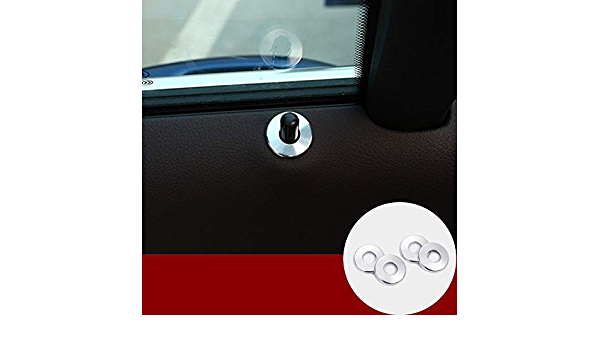 Innen Türverriegelung Tür Türpins Schlösser Abdeckung 4stk Auto