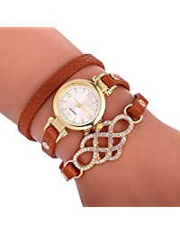 Relojes de mujer, Mujer Reloj Pulsera Reloj de Pulsera envolver reloj Cuarzo Cuero Sintético Acolchado