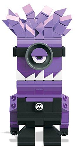 Mega Bloks Mattel DTW65 Kubros Böser Minion, Konstruktionsspielzeug
