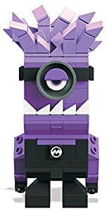 Mega Bloks- Figuras coleccionables, Color Lila/Negro. (Mattel Spain DTW65)