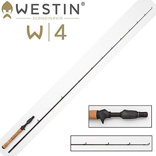 Westin W4 Vertical Jigging-T QL 185 cm XXH 35-64g, Vertikalrute, Angelrute zum Vertikalangeln, Vertikalfischen auf Zander, Hecht & Barsch, Spinnrute für Baitcaster Multirolle