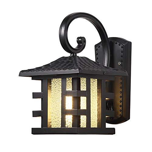 Zhang Ying ZY * Outdoor Wandleuchte Wandlampen Tor Wandlaterne Gang Korridor Lampe Garten Garten Licht Outdoor Rainproof Lampe Europäischen Wand Montiert Sicherheitslichter
