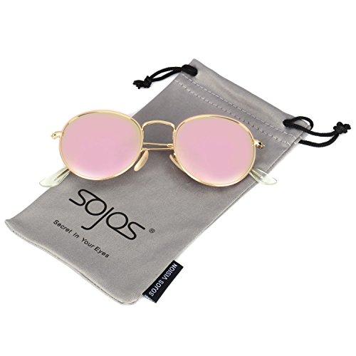 SojoS -  Occhiali da sole  - Donna rosa