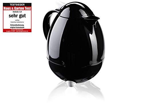 Leifheit 28301 Columbus - Jarra térmica de 1 litro, Color Negro