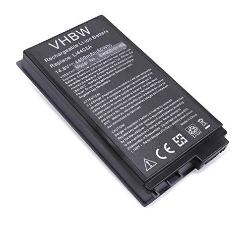 Batterie LI-ION 4400mAh 14.8V Couleur : Noir, pour MEDION MD95257, MD95703, MD 95257 95703