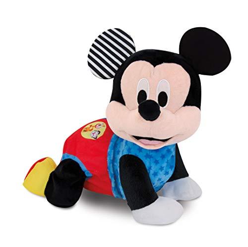 Clementoni- Disney Baby Mickey Gattona con Me, Multicolore, 17237