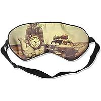 Eye Mask Eyeshade Cat Driving Car Sleeping Mask Blindfold Eyepatch Adjustable Head Strap preisvergleich bei billige-tabletten.eu