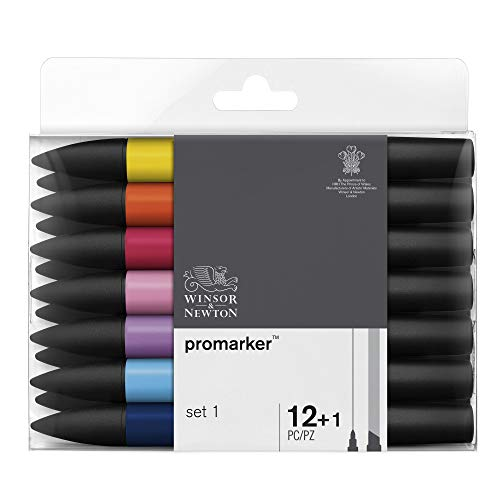Winsor & Newton Promarker - 12+1 pennarelli Set 1