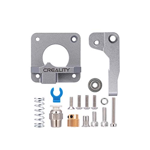 Sovol Creality extrusor de impresora 3D de aluminio gris mejorado MK8 Bowden extrusor 40 dientes Drive Gear para Ender 3/Pro, Ender 5, CR-10/10S/S4/S5