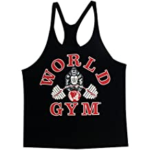 W300World Gym Stringer Tank Top