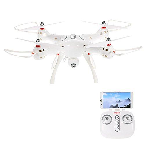 Goolsky Syma X8PRO 720 P Kamera Wifi FPV Drohne Höhe Halten Ein Schlüssel Zurück GPS Positionierung RC Quadrocopter RTF