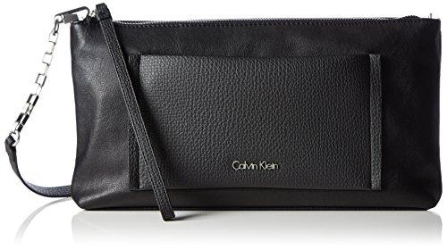 Calvin Klein Jeans  LANA MULTIFUNCTION CLUTCH, pochettes femme Noir - Schwarz (BLACK 001 001)