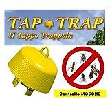 Roberto Carello TAP TRAP Tappo di plastica per bottiglie in conf. da 5 pezzi